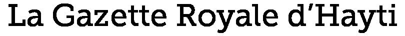 La Gazette Royale d'Hayti
